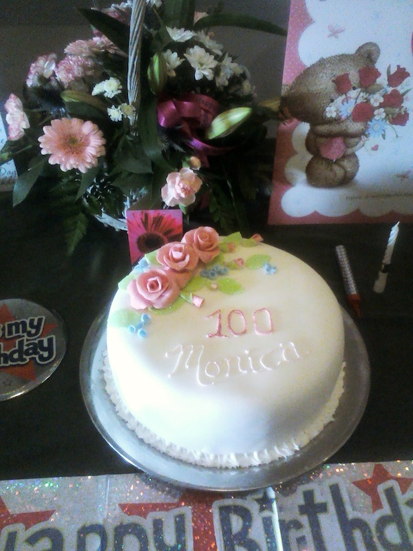 Monica James 100th Birthday Celebration Cilymaenllwyd News