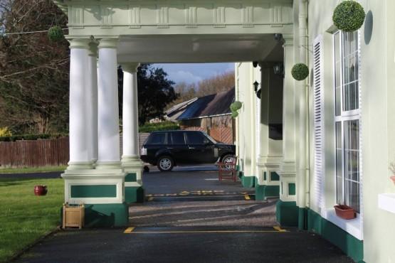 Cilymaenllwyd entrance