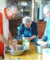 Making bread - sensory development